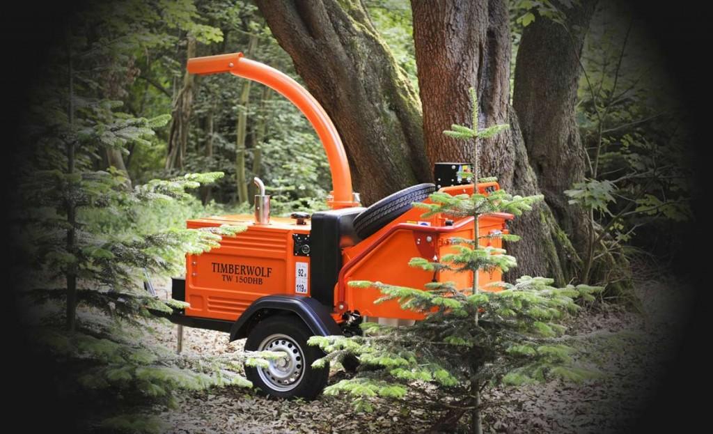 timeberwolf wood chipper hire